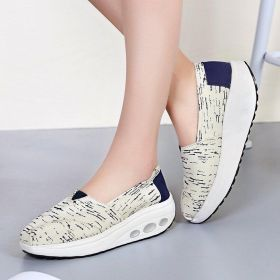 Low Cut Breathable Canvas Leisure Shoes