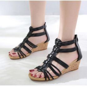 Wedges Heel Plus Size Roma Sandals