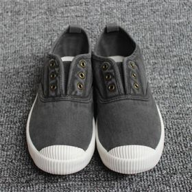 Women Athletic Sneakers Slip On Casual Canvas Shoes