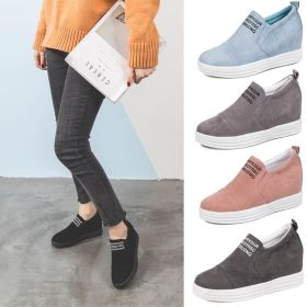 Spring/Summer Fashion Trends Wedge Heel Slip-On Concise Shoes