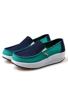 New Casual  Canvas Sneakers Platform Shoes