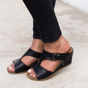 Wedge Heel Pu Summer Casual Wedges