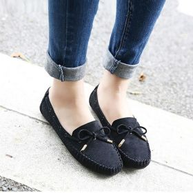 Women's Bowknot Casual&Work Comfort  Concise Loafer Flat Shoes