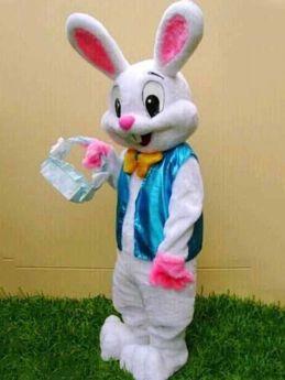 Adults Easter Bunny Mascot Cartoon Rabbit Cosplay Costume