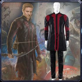 The Avengers Age Of Ultron Hawkeye Clint Barton Cosplay Costumes - Deluxe Version