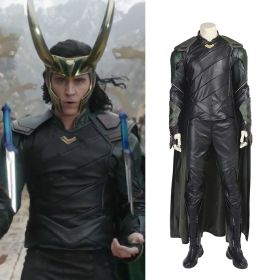 2017 Thor: Ragnarok Baal Loki Cosplay Costumes Without Helmet