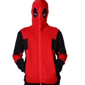 Deadpool Anime Cosplay Costume Sweatshirt Unisex Cotton Hoodies