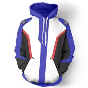 Overwatch Game Soldier 76 Pullover Cosplay Hoodies