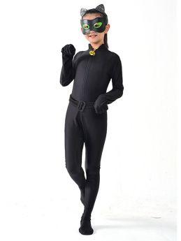 Tale of Ladybug Cat Noir Cosplay Black Costume Kids Jumpsuit
