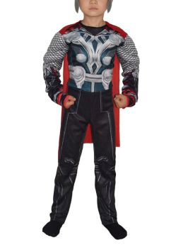 Avengers Thor Kids Boy Cosplay Costumes Muscle Jumpsuit