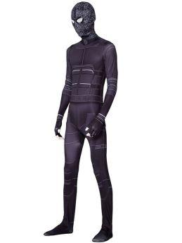 Spider-Man Noir Cosplay Kids Adult Black Costume Zentai Jumpsuits