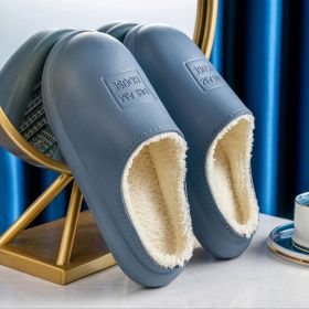 Men Women's Winter Comfy Waterproof Non-slip Indoor Outdoor House Slippers