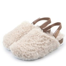 Winter Warm Comfort Solid Color Furry Slippers House Shoes