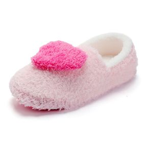 Sweet Warm Winter Closed Back Soft Light Weight Cute Shoes Non-slip House Slippers