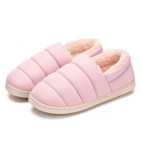 Men Womens Closed Back Furry Home Indoor Outdoor Shoes Comfy Slip-on House Slippers