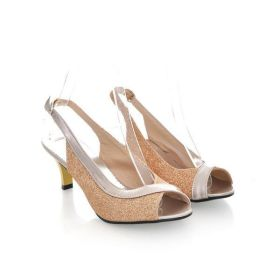 Spring Summer Leaky Toe Sandals Pumps