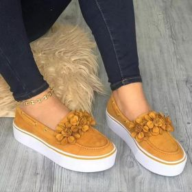 New Spring Casual Canvas Platform Womens Shoes Loafers