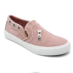 Womens Comfy Loafers Canvas Flat Solid Shoes