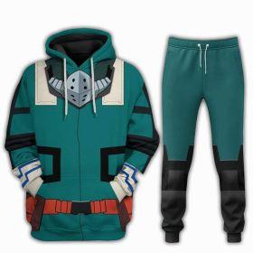 My Hero Academia Midoriya Izuku Cosplay Printing Hoddies Pants Plus Size