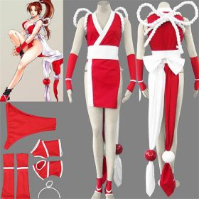 The King of Fighters Mai Shiranui Cosplay Costume - Deluxe Version