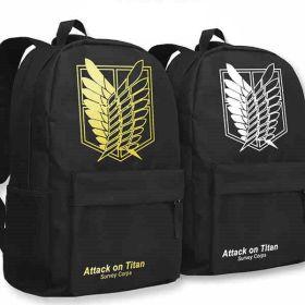 Attack on Titan Backpack Schoolbag