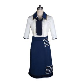 Bioshock Infinite 3 Cosplay Elizabeth Daisy Fitzroy Uniform Cosplay Costume