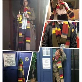 Fourth 4 Doctor Who 12 Foot Lengths Scarf