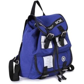 Doctor Who Police Box TARDIS Cosplay Travel Backpack Fashion Schoolbag