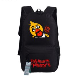 Five Nights at Freddys Chica images Backpack Schoolbag