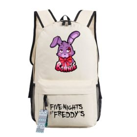 Five Nights at Freddys Bonnie the Bunny images Backpack Schoolbag