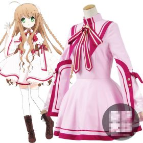 Rewrite Kanbe Kotori School Uniform Dress Cosplay Costume