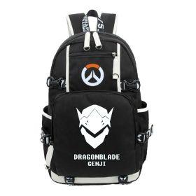 Overwatch Genji Icon Logo Cartoon Backpack