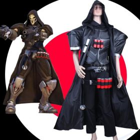 Overwatch OW Reaper Cosplay Costumes