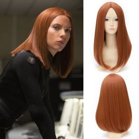 Captain America The Winter Soldier Black Widow Cosplay Wig