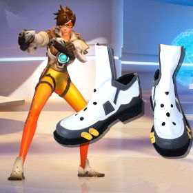 Overwatch Tracer Cosplay Boots Shoes