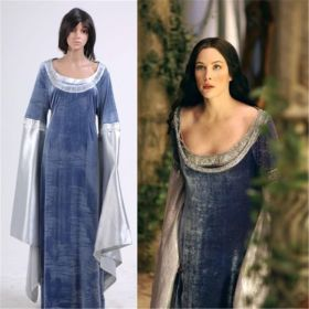 The Lord of The Rings Arwen Traveling Dress Cosplay Costume