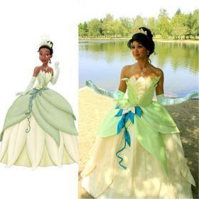 The Princess and the Frog Tiana Princess Dress Costume