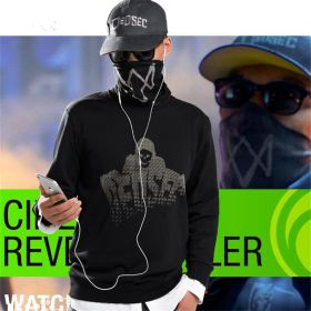 Watch Dogs 2 Marcus Holloway Cosplay Faux Two-pieces Pullover Sweater Hoodies