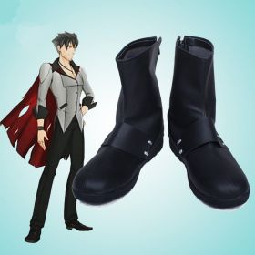 RWBY Qrow Branwen Black Shoes Cosplay Boots