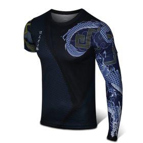 Overwatch Hero Hanzo Cosplay Sport Tight 3D Cosplay Tee Shirt