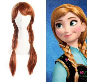 Disney Frozen Princess Anna Cosplay Wig