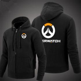 OW Overwatch Icon Men's Zipper Hoodies