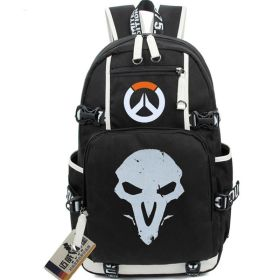 Overwatch Reaper Icon Logo Backpack