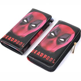 Marvel Deadpool Faux Leather Long Wallet