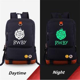RWBY Red Trailer Ruby Rose Logo Luminous Canvas Bag Backpack