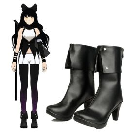 RWBY BlackTrailer Blake Belladonna Shoes Cosplay Boots
