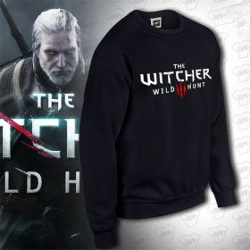 The Witcher 3 Wild Hunt Logo Pullover Hoodie