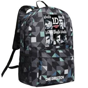 One Direction Image School Bag Backpack