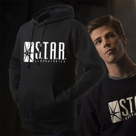 DC The Flash Star Labs Logo Pullover Hoodies