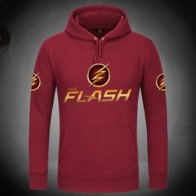 The Flash Logo Pullover Hoodies